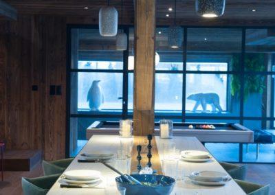 cuisine-chalet de luxe à proximité des Hautes Alpes