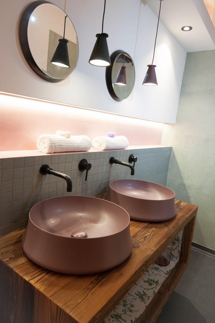 chalet de charme salle de bain vers briançon