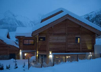 chalets de luxe à proximité de la salle les alpes